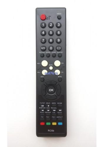 Пульт для телевизора Fusion (Фьюжен) RC6b