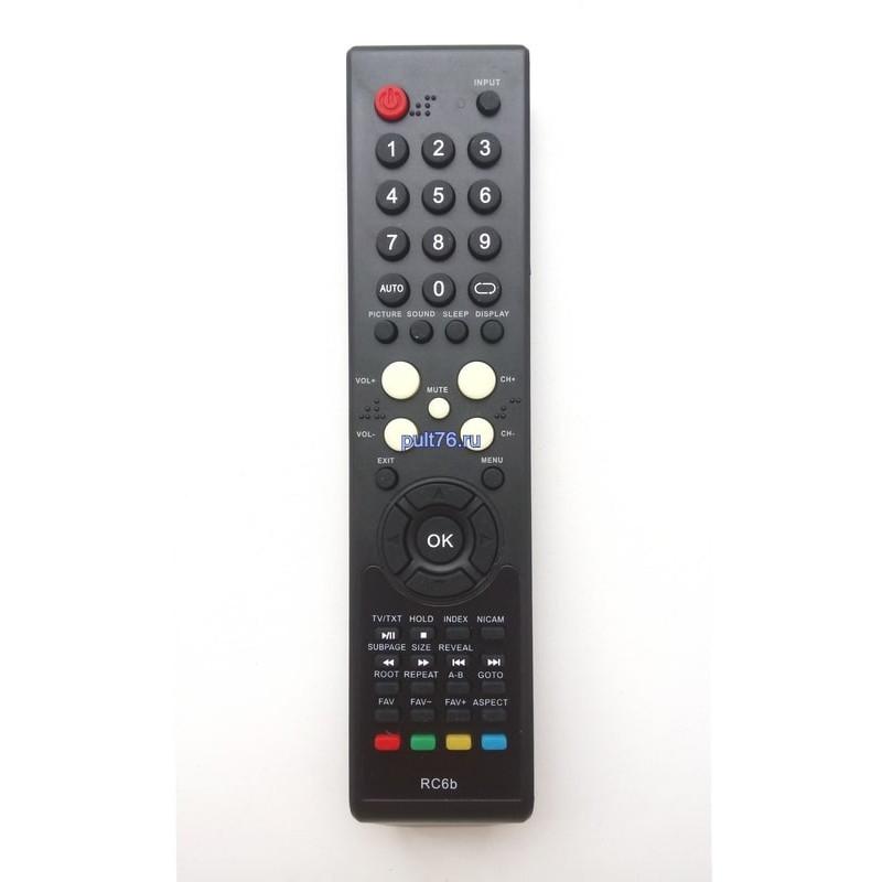 Пульт для телевизора Supra (Супра) RC6b