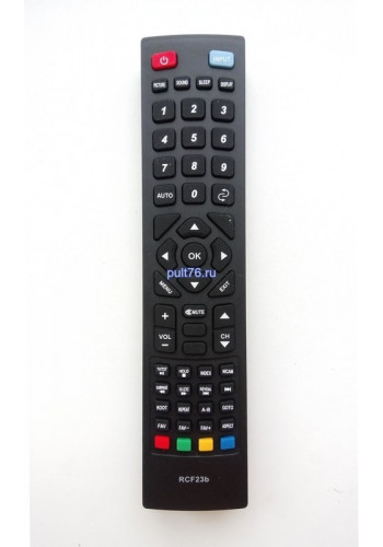 Пульт для телевизора Fusion (Фьюжен) RCF23b NEW