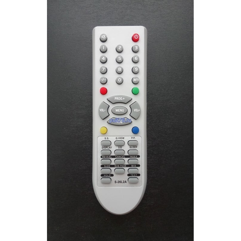 Пульт для телевизора Supra (Супра) S-26L2A