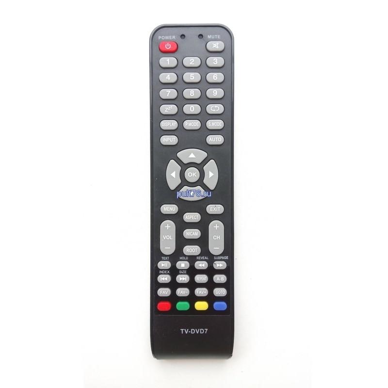 Пульт для телевизора Supra (Супра) TV-DVD7