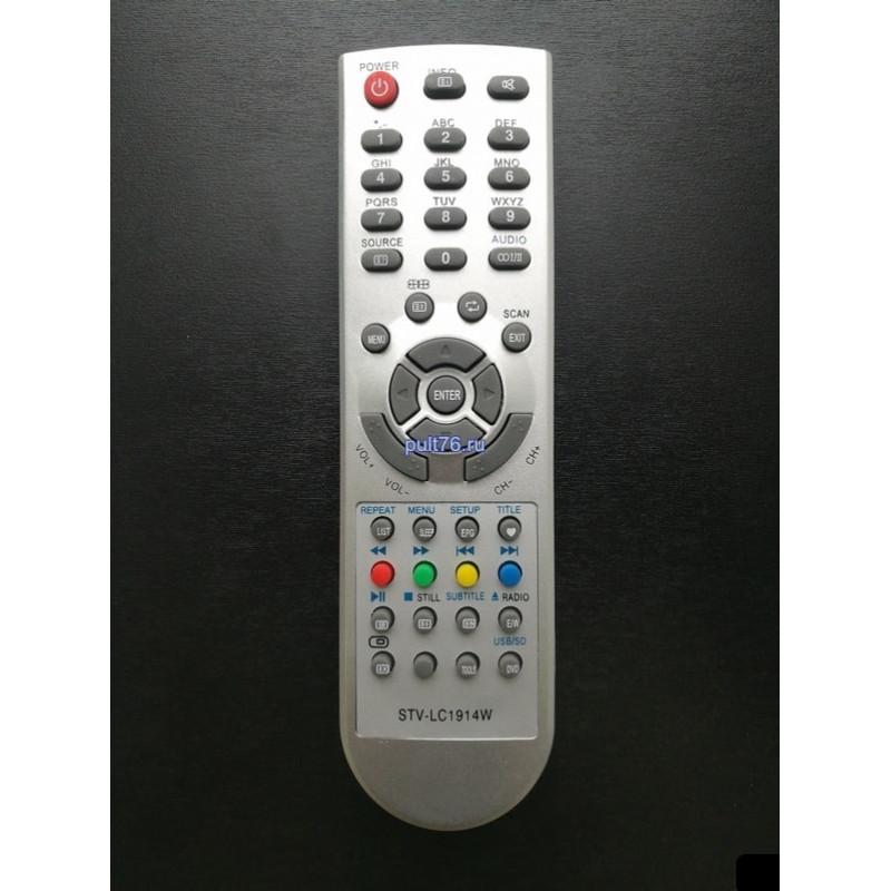 Пульт для телевизора Supra TVD34 STV-LC1914W