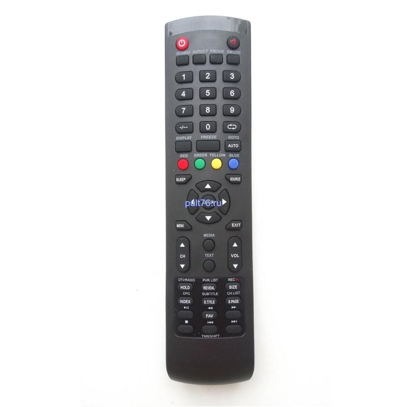 Пульт для телевизора Doffler (Дофлер, Доффлер) Y-72C2 (Timeshift)