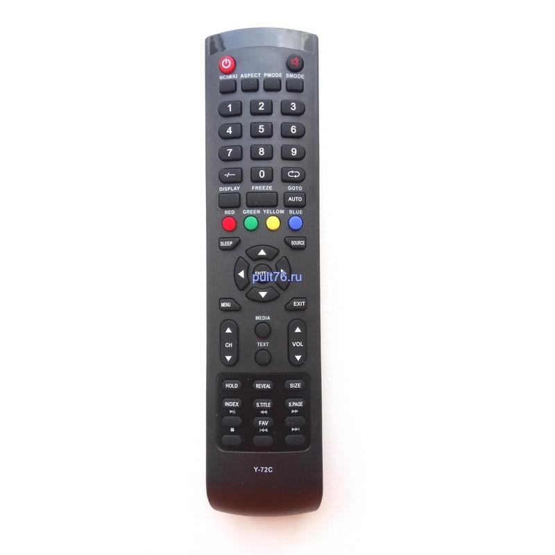 Пульт для телевизора DEX (Декс, Дех) Y-72C/Y-72C1