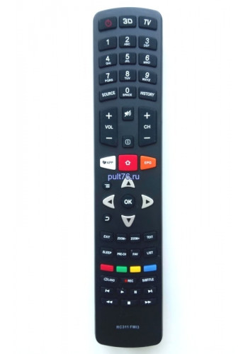 Пульт для телевизора TCL RC311 FMI3, FM13