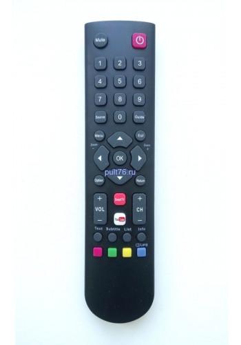 Пульт для телевизора Thomson RC2000E02 YOUTUBE