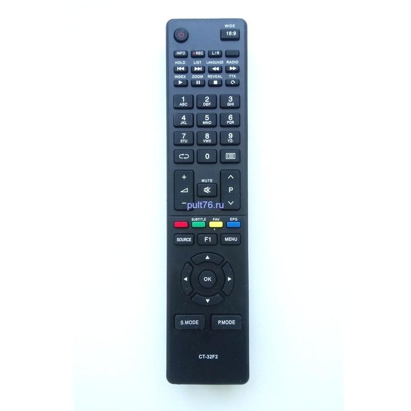 Пульт для телевизора Toshiba CT-32F2