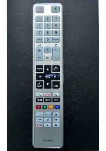 Пульт для телевизора Toshiba CT-8054 3D NETFLIX
