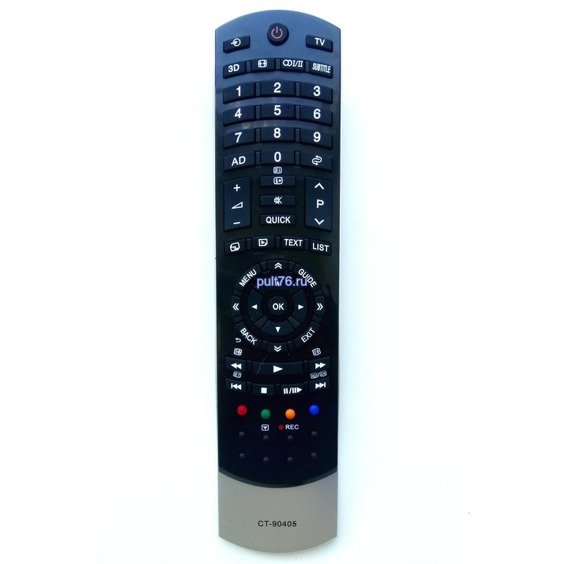 Пульт для телевизора Toshiba CT-90405 3D
