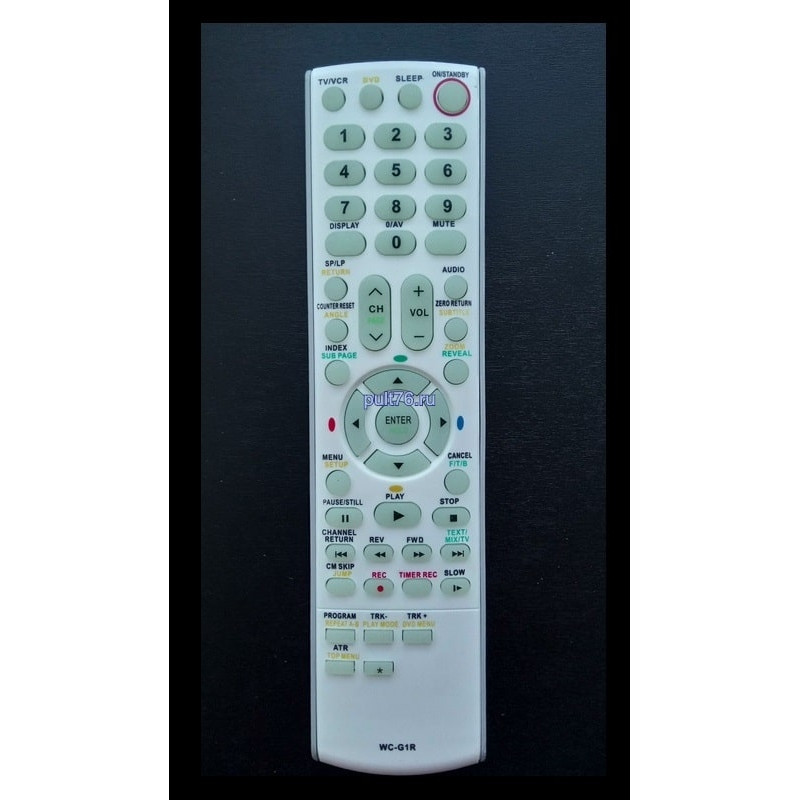 Пульт для телевизора Toshiba WC-G1R