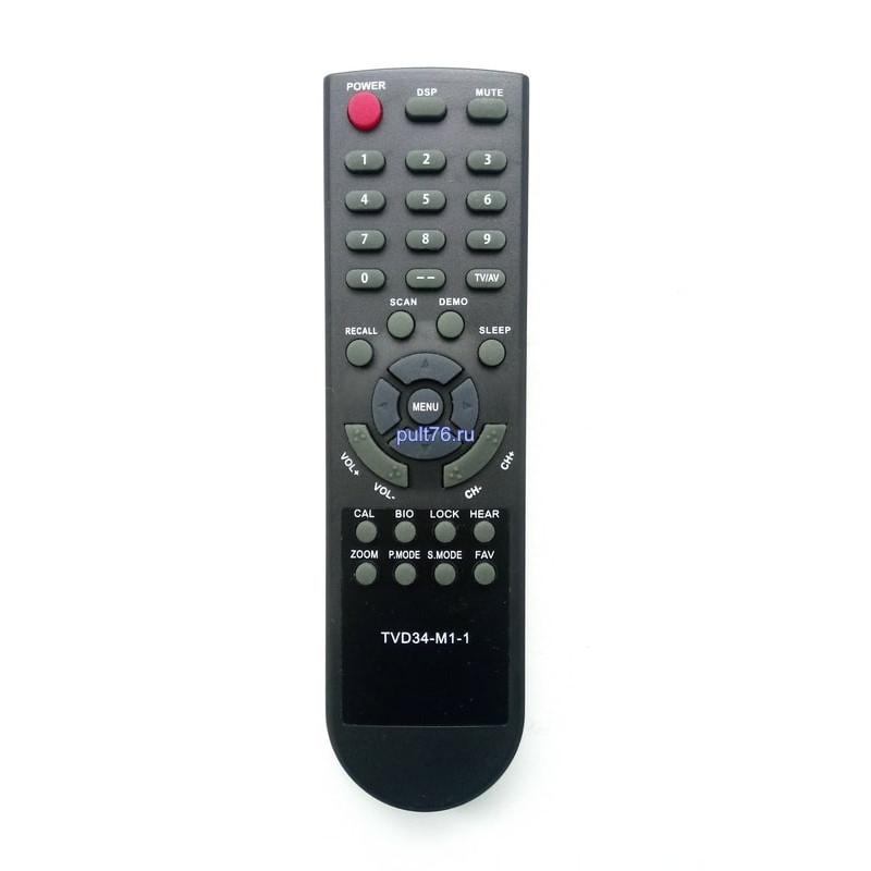 Пульт для телевизора VR TVD34-M1-1 (CT-21VUAS-G)