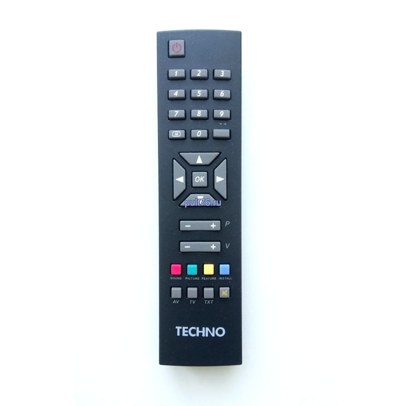 Пульт для телевизора Techno RC-1241