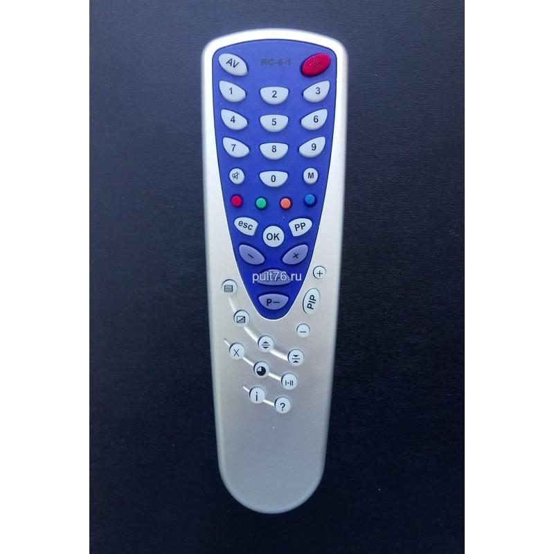 Пульт для телевизора Novex RC-10, RC-6-1, 37CTV730-7